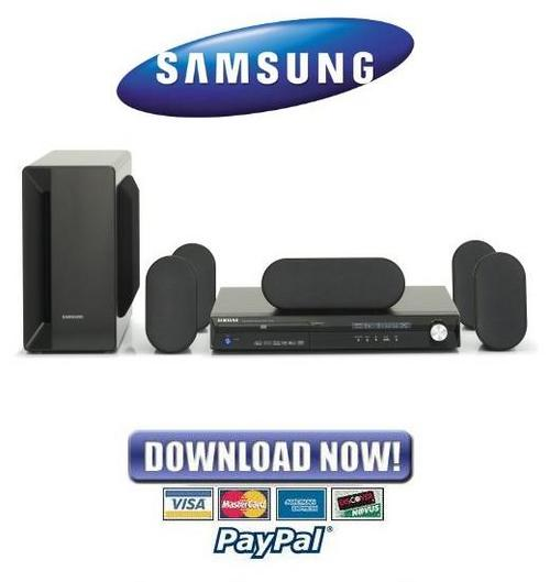 samsung home theater system ht x40 manual