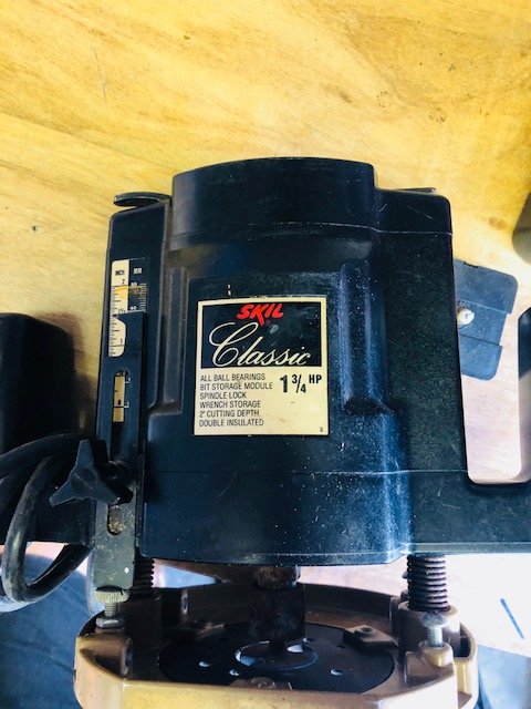 skil classic router model 1835 manual
