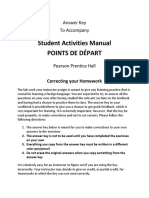 arriba answer key for student activities manual pdf