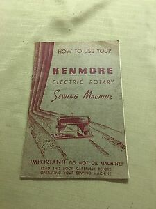users manual for kenmore model 385 sewing machine